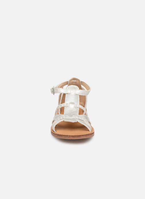 Sandales et nu-pieds NA! Adeline Argent vue portées chaussures