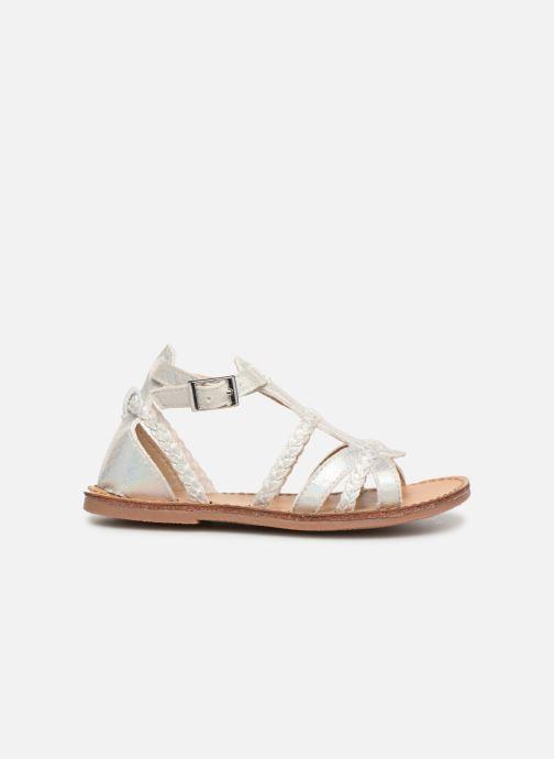 Sandales et nu-pieds NA! Adeline Argent vue derrière