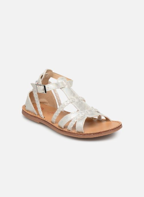 Sandals NA! Adeline Silver detailed view/ Pair view