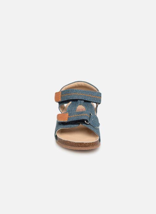 Sandales et nu-pieds NA! Addy Bleu vue portées chaussures