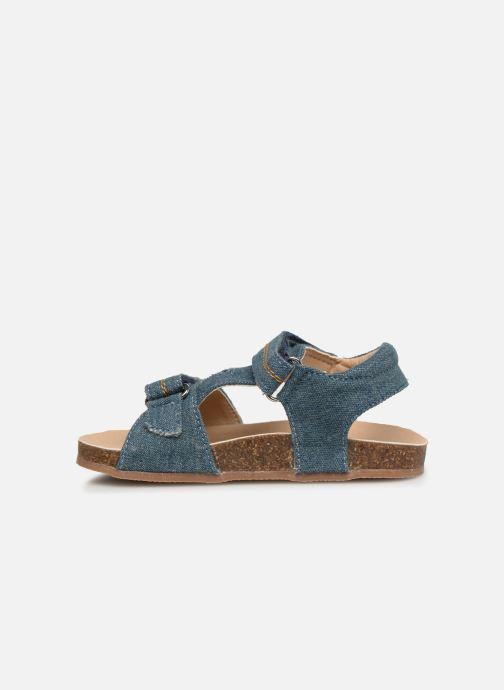 Sandales et nu-pieds NA! Addy Bleu vue face