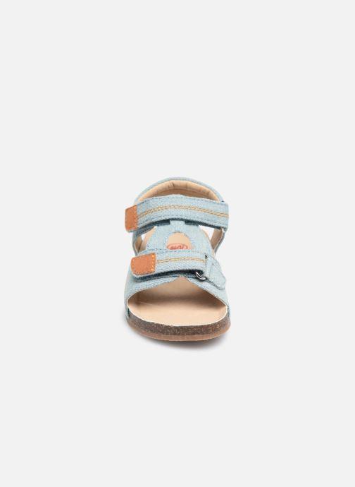 Sandali e scarpe aperte NA! Addy Azzurro modello indossato