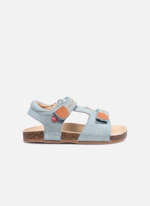 Sandales et nu-pieds NA! Addy Bleu vue derrière