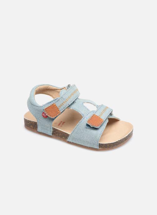 Sandales et nu-pieds NA! Addy Bleu vue détail/paire