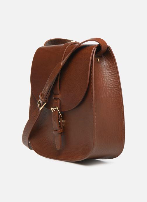 Handbags Herbert Frère Soeur GRAND SAB Brown model view