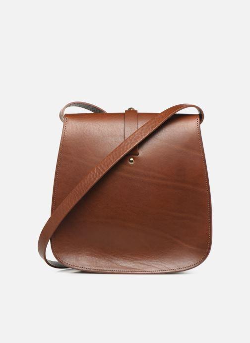 Handbags Herbert Frère Soeur GRAND SAB Brown front view