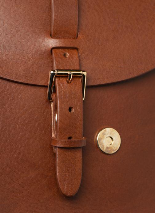 Handbags Herbert Frère Soeur GRAND SAB Brown view from the left