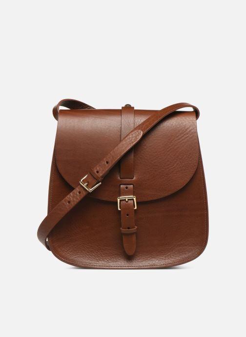 Handbags Herbert Frère Soeur GRAND SAB Brown detailed view/ Pair view