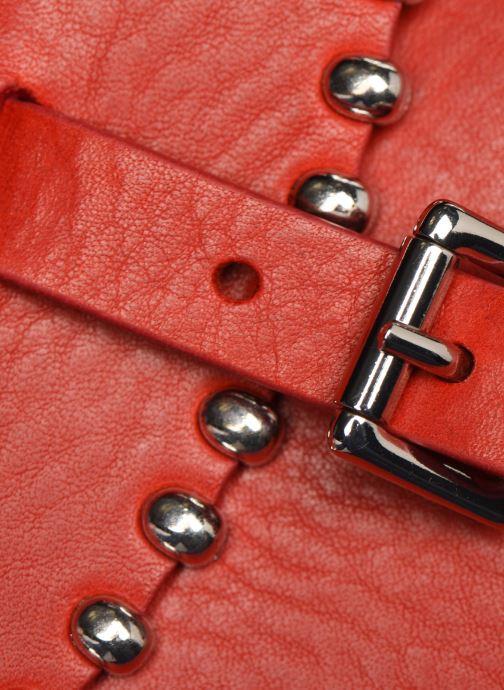 Bolsos de mano Herbert Frère Soeur SAB ROCK Rojo vista lateral izquierda