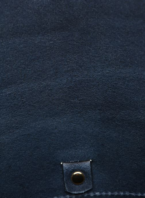 Sacs à main Herbert Frère Soeur SAB CLOWN CROCO Bleu vue derrière