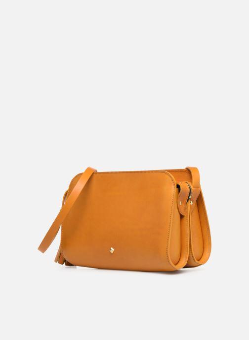 Handtaschen Herbert Frère Soeur MOUF orange schuhe getragen