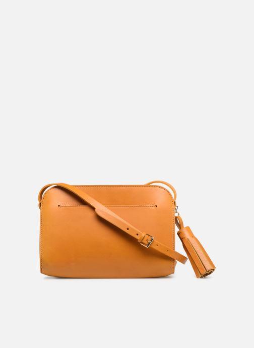 Handtaschen Herbert Frère Soeur MOUF orange ansicht von vorne