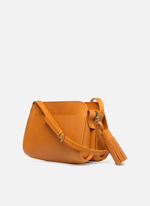 Handtaschen Herbert Frère Soeur MOUF orange ansicht von rechts