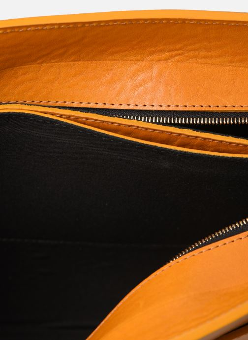 Handtassen Herbert Frère Soeur MOUF Oranje achterkant