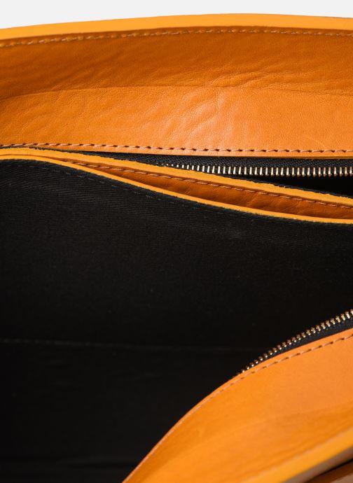 Handtaschen Herbert Frère Soeur MOUF orange ansicht von hinten