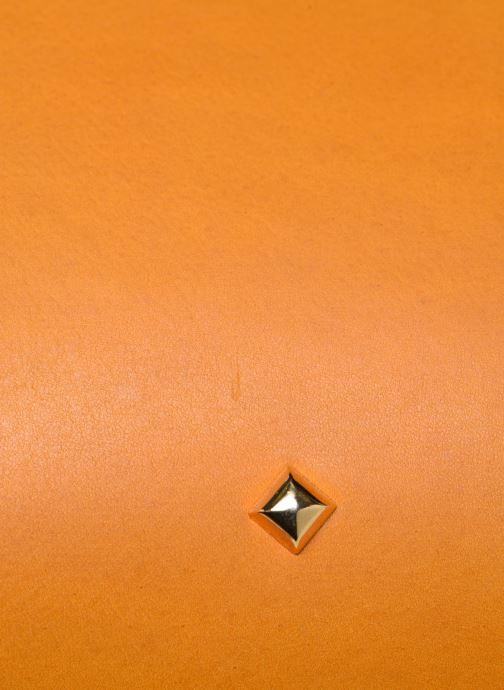 Bolsos de mano Herbert Frère Soeur MOUF Naranja vista lateral izquierda
