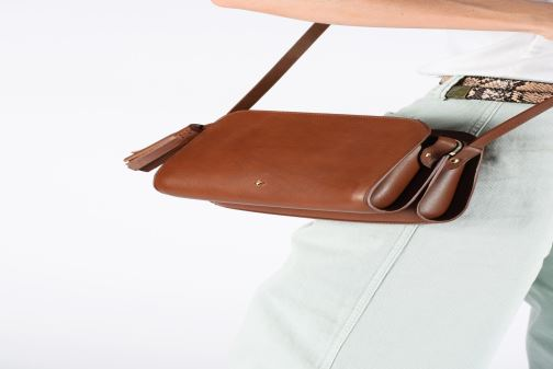 Handbags Herbert Frère Soeur MOUF Orange view from underneath / model view