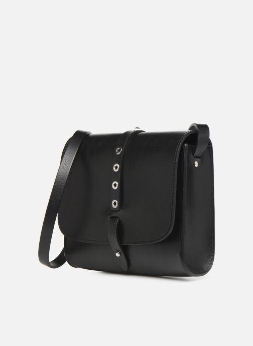 Handtaschen Herbert Frère Soeur MINI LINE schwarz schuhe getragen