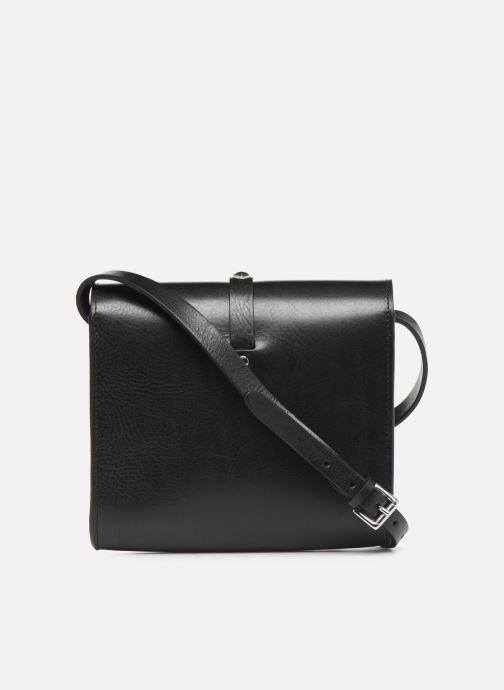 Handtaschen Herbert Frère Soeur MINI LINE schwarz ansicht von vorne