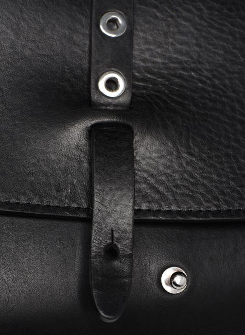 Handtaschen Herbert Frère Soeur MINI LINE schwarz ansicht von links