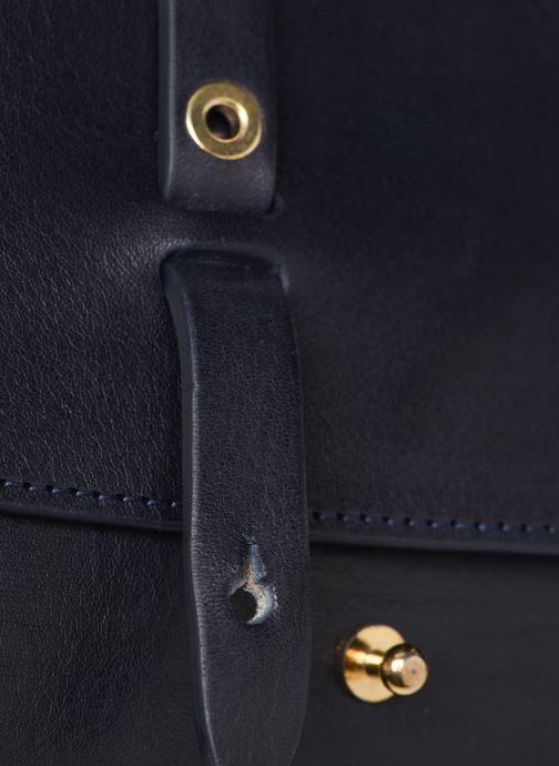 Handtaschen Herbert Frère Soeur MINI LINE blau ansicht von links