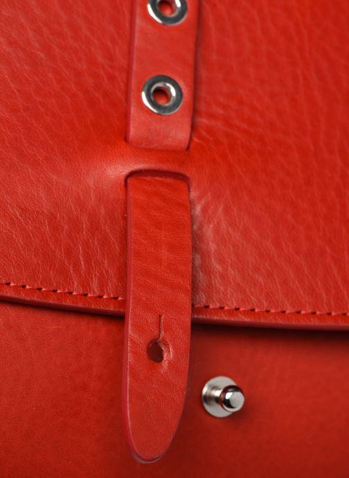 Bolsos de mano Herbert Frère Soeur MINI LINE Rojo vista lateral izquierda