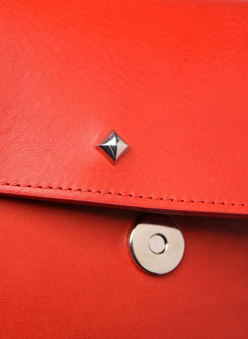 Bolsos de mano Herbert Frère Soeur GRAND KISS Rojo vista lateral izquierda