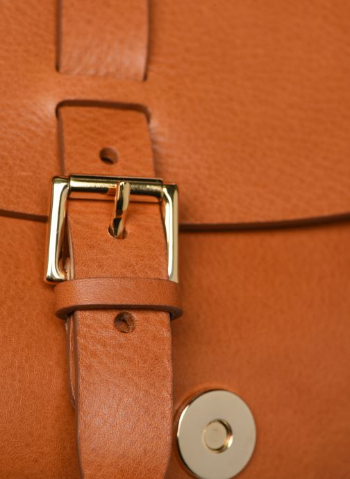 Bolsos de mano Herbert Frère Soeur GAB Marrón vista lateral izquierda