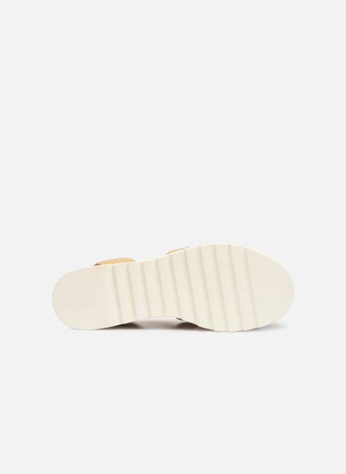Sandales et nu-pieds Steve Madden BANDI Beige vue haut