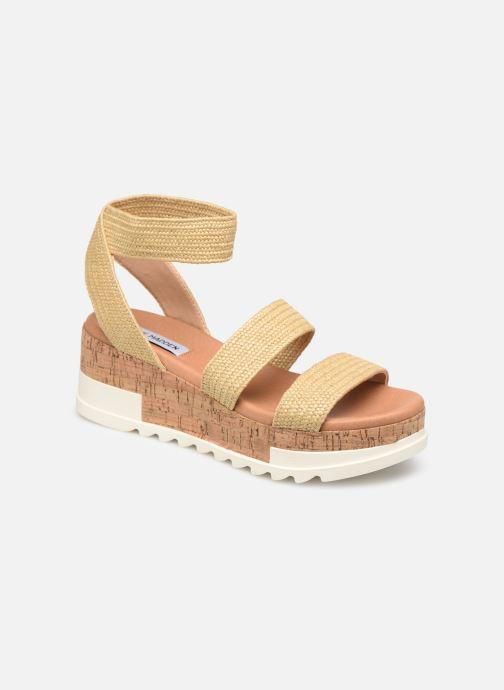 Sandales et nu-pieds Steve Madden BANDI Beige vue détail/paire