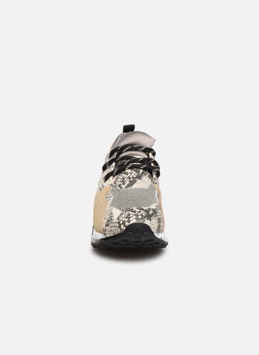 Baskets Steve Madden CLIFF Gris vue portées chaussures