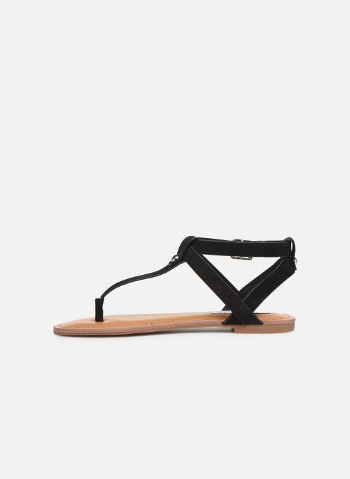 Sandales et nu-pieds Steve Madden HIDDEN Noir vue face