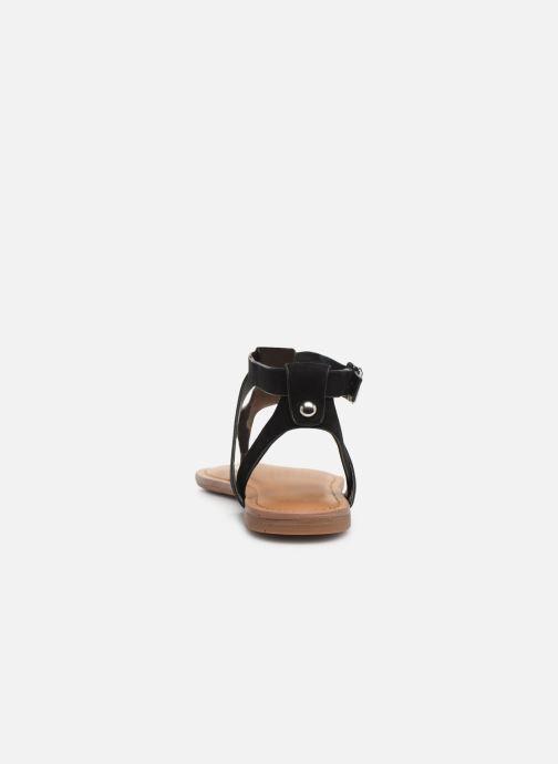 Sandales et nu-pieds Steve Madden HIDDEN Noir vue droite