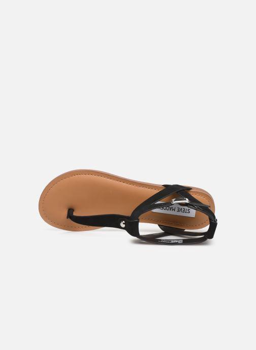 Sandales et nu-pieds Steve Madden HIDDEN Noir vue gauche