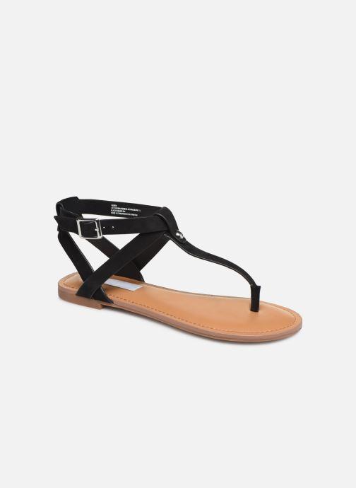 Sandales et nu-pieds Steve Madden HIDDEN Noir vue détail/paire