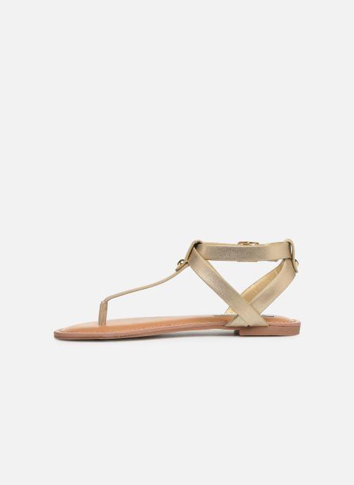 Sandales et nu-pieds Steve Madden HIDDEN Or et bronze vue face