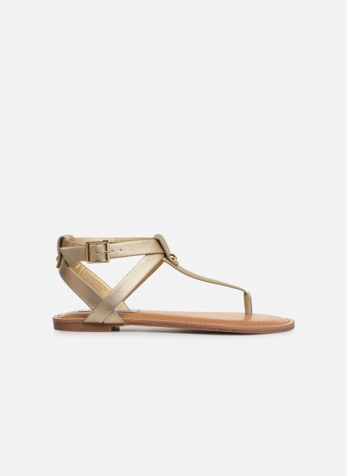 Sandales et nu-pieds Steve Madden HIDDEN Or et bronze vue derrière