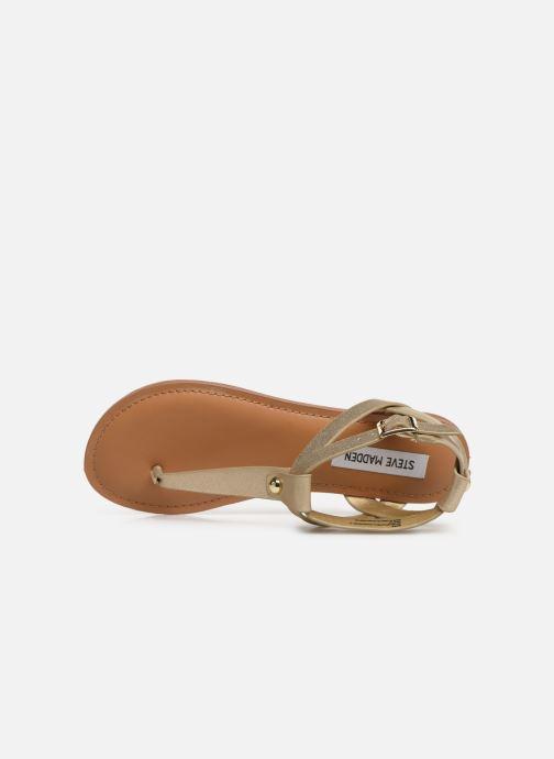 Sandales et nu-pieds Steve Madden HIDDEN Or et bronze vue gauche