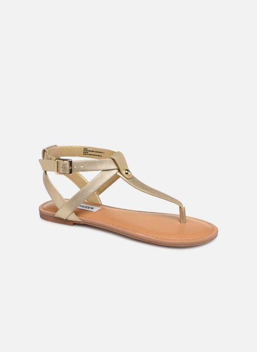 Sandales et nu-pieds Steve Madden HIDDEN Or et bronze vue détail/paire