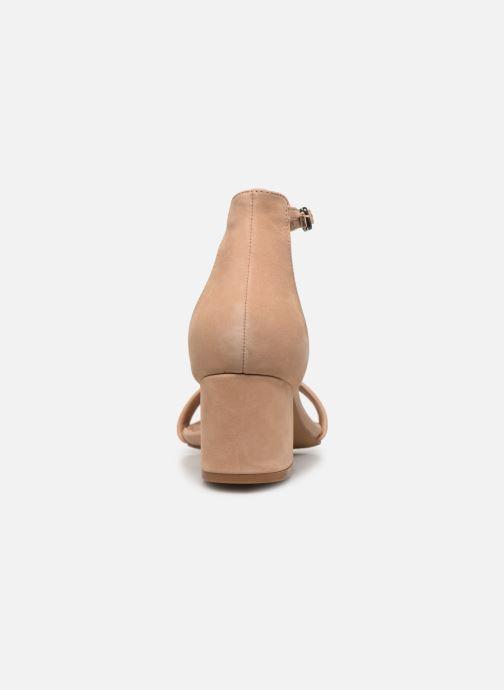 Sandales et nu-pieds Steve Madden IRENEE Marron vue droite