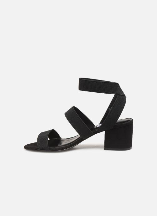Sandales et nu-pieds Steve Madden ISOLATE Noir vue face