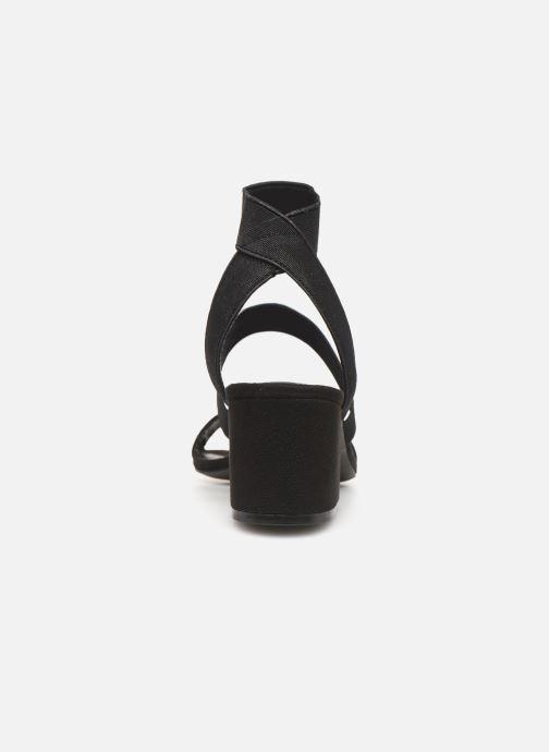 Sandales et nu-pieds Steve Madden ISOLATE Noir vue droite