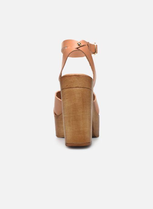 Sandales et nu-pieds Steve Madden LILIANA Marron vue droite