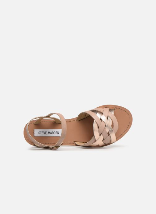 Sandals Steve Madden OSCAR Pink view from the left