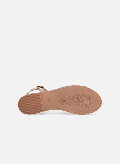 Sandals Steve Madden OSCAR Pink view from above
