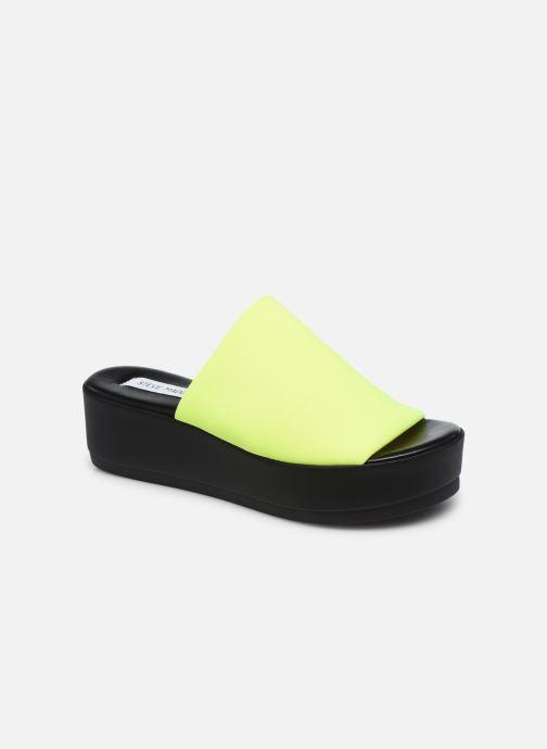 Clogs & Pantoletten Steve Madden SLINKY SANDAL gelb detaillierte ansicht/modell