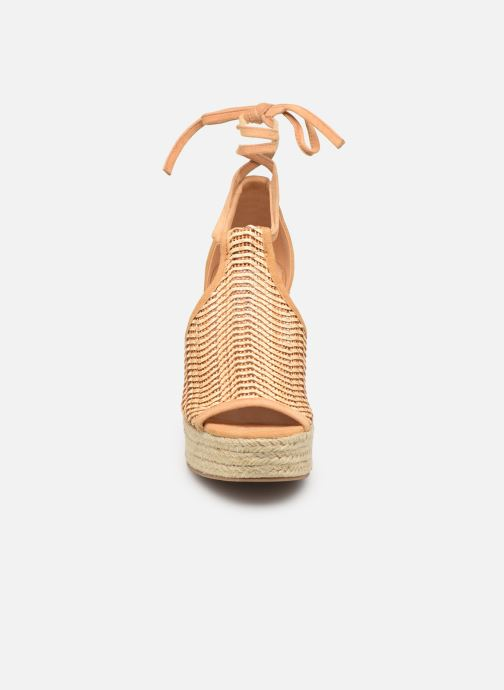 Espadrilles Steve Madden STREAM Beige vue portées chaussures