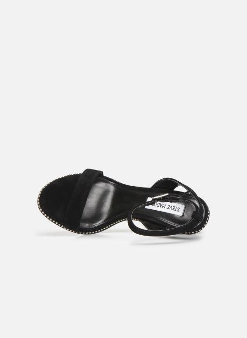 Sandales et nu-pieds Steve Madden SYLVIE Noir vue gauche