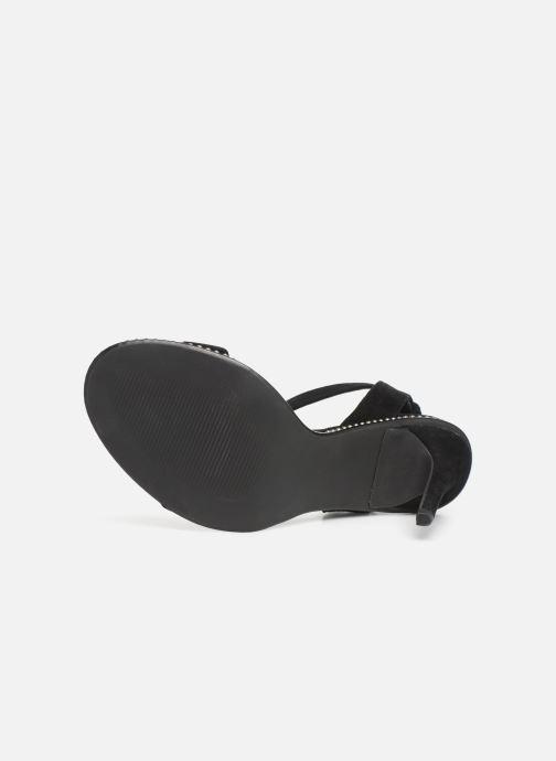 Sandales et nu-pieds Steve Madden SYLVIE Noir vue haut