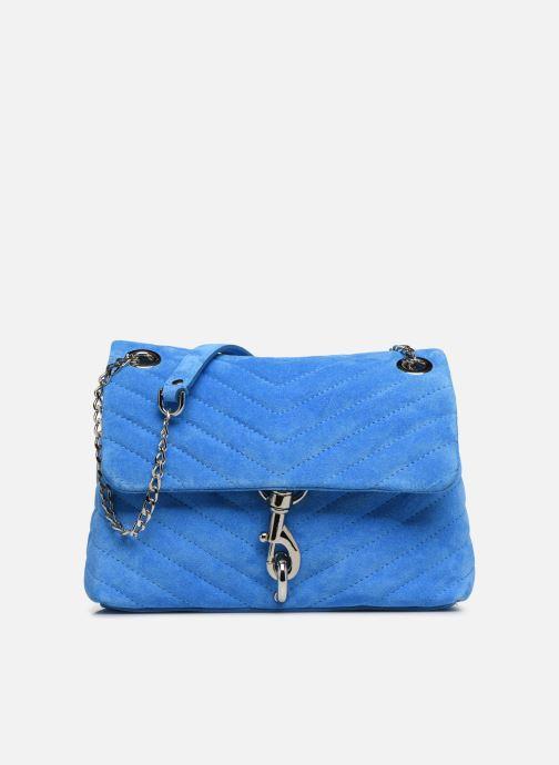Handtassen Rebecca Minkoff EDIE XBODY FLUO SUEDE Blauw detail